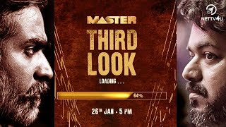MASTER Third Look Update   Thalapathy Vijay   Makkal Selvan VJS   Lokesh Kanagaraj