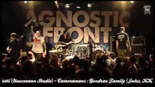 Agnostic Front - live a Paris