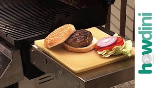 Burger recipes for the BBQ grill - Gas grilled hamburgers
