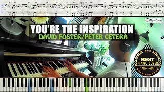 ♪ You're The Inspiration - Peter Cetera / Piano Cover Instrumental Tutorial Guide