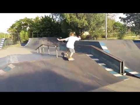 Brian Grinds The Rail