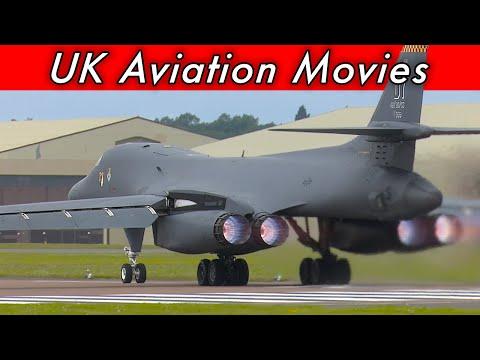 B-1B Lancer launching