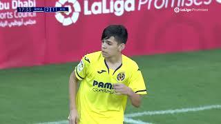 Semifinal: Resumen Real Madrid vs Villarreal CF (3-2) LaLiga Promises Abu Dhabi 2019