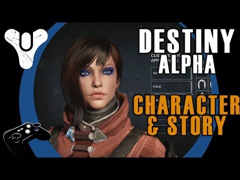 Destiny Alpha Part I: Character Creation and First Story Mission