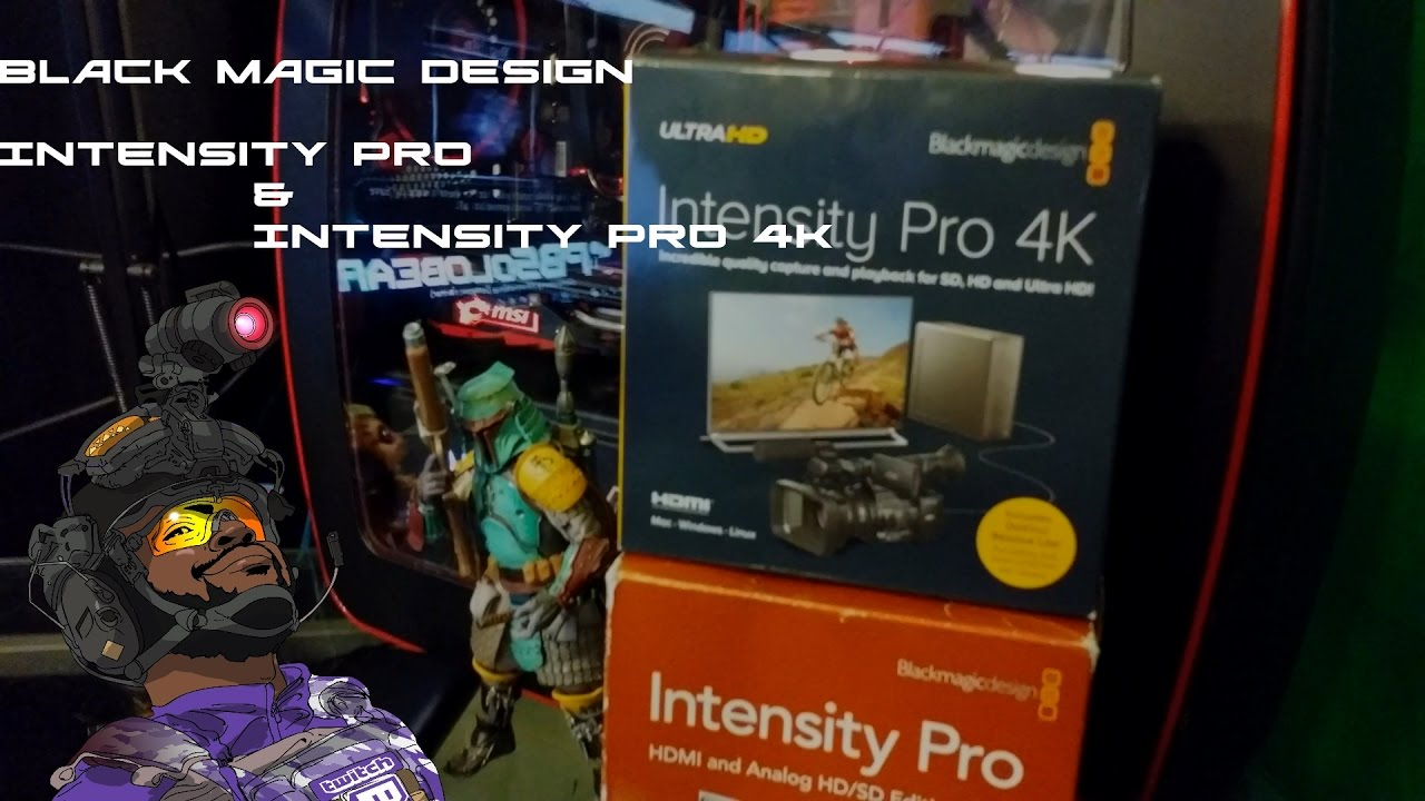 Black Magic Design Intensity Pro And Pro 4k Overview Youtube