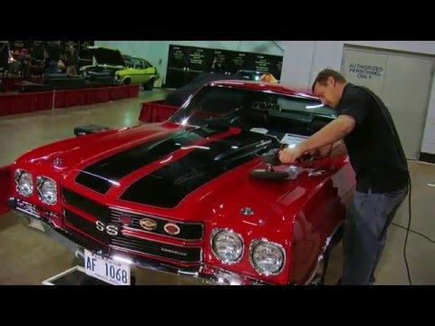 DFT Details Keeps Million Dollar Cars Shining at 2015 Muscle Car and Corvette Nationals Video V8TV - 동영상