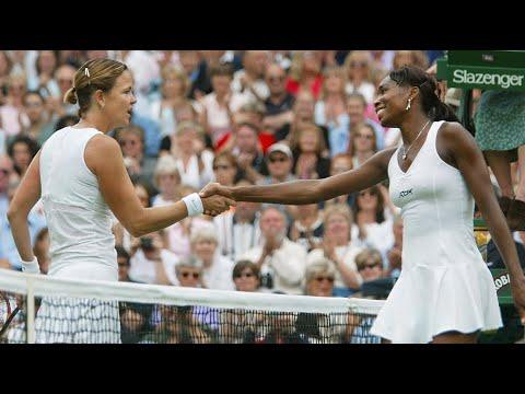 Venus Williams vs Lindsay Davenport 2003 Wimbledon Highlights
