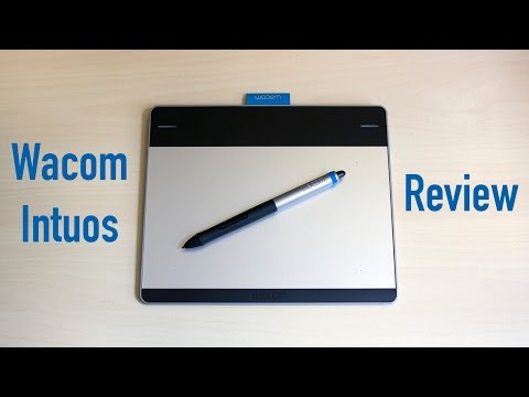 Wacom Intuos Pen and Touch Tablet Review (CTH-480) - YouTube