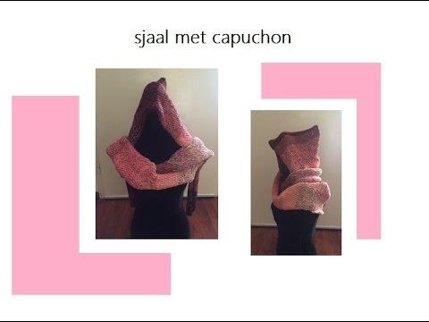 Capuchon Plus Sjaal Haken Of Breien Brei Loom Makkelijk Youtube
