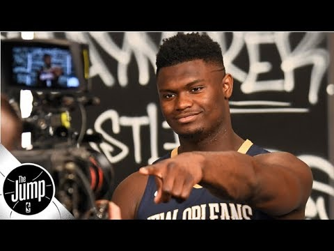 Reacting to Zion Williamson making the top 50 of ESPN's #NBARank | The Jump