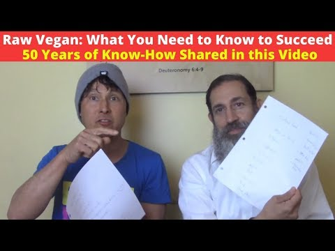 Raw Vegan Diet What You Need To Know To Succeed - 50 Years Of Know-How Shared