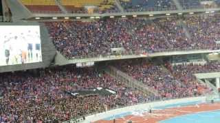 JDT Fans at Bukit Jalil (Pahang VS JDT Piala FA 2013) Semi Final Part 2
