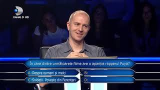 Vrei sa fii milionar? (12.11.2018) - Suspans la intrebarea pentru 50.000 de lei! A depasit pragul?