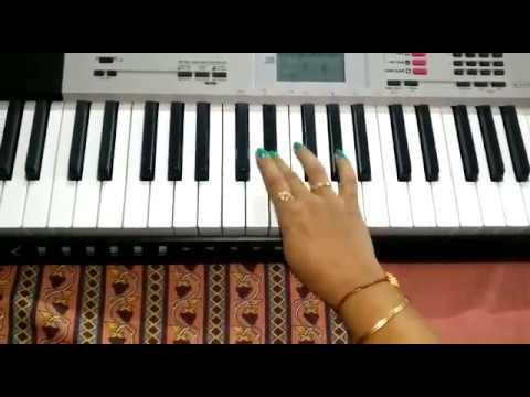 Gori Radha ne kalo kan | Piano | Casio Keyboard | ગોરી રાધા ને કાળો કાન | By Bhumi Goklani