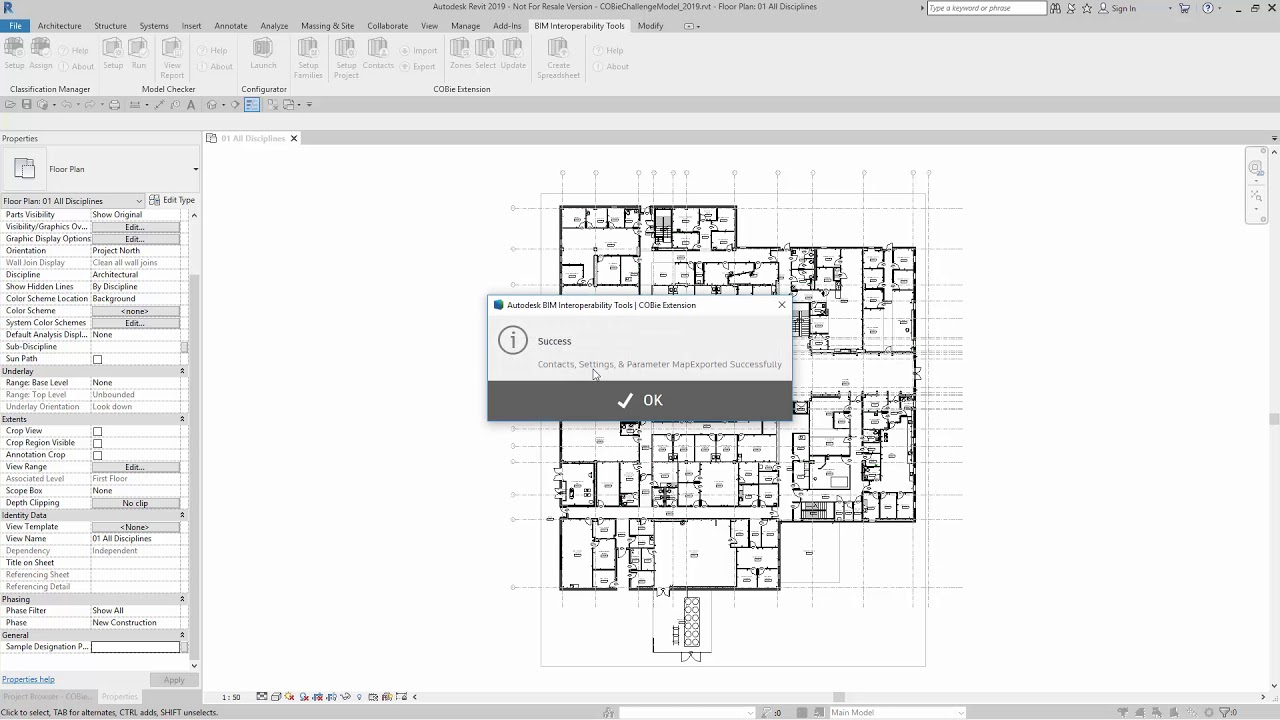 Revit import site plan