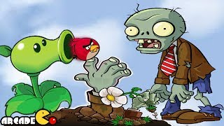 Angry Birds VS Zombies: Plants Vs Zombies & Angry Birds Battle