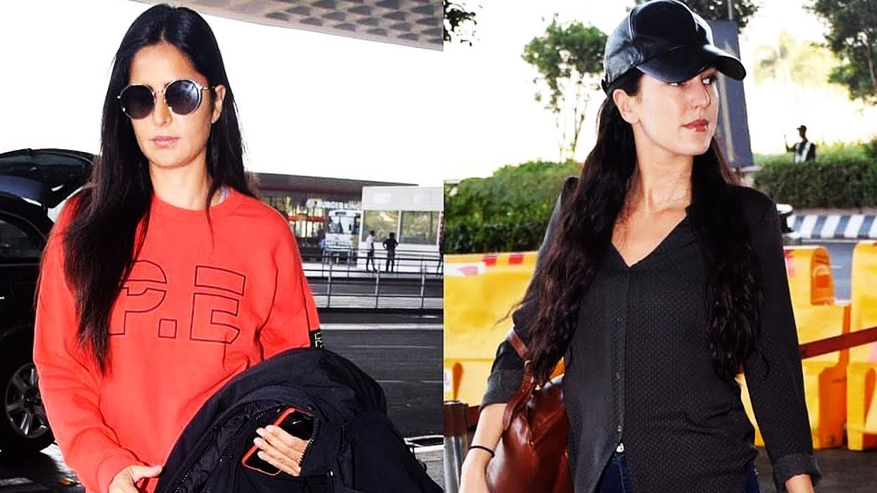 Katrina Kaif With Her Sister Isabelle Kaif Spotted At The ...