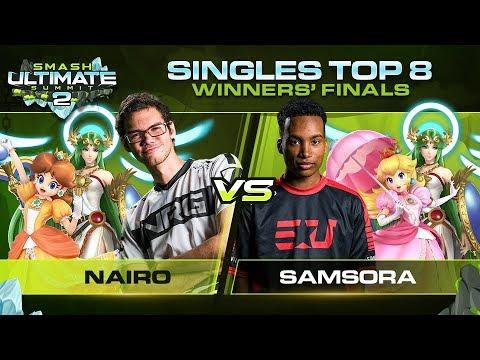 Download Nairo vs Samsora - Singles: Winners Finals - Ultimate Summit 2 | Daisy, Palutena vs Palutena, Peach