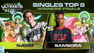 Nairo vs Samsora - Singles: Winners Finals - Ultimate Summit 2 | Daisy, Palutena vs Palutena, Peach