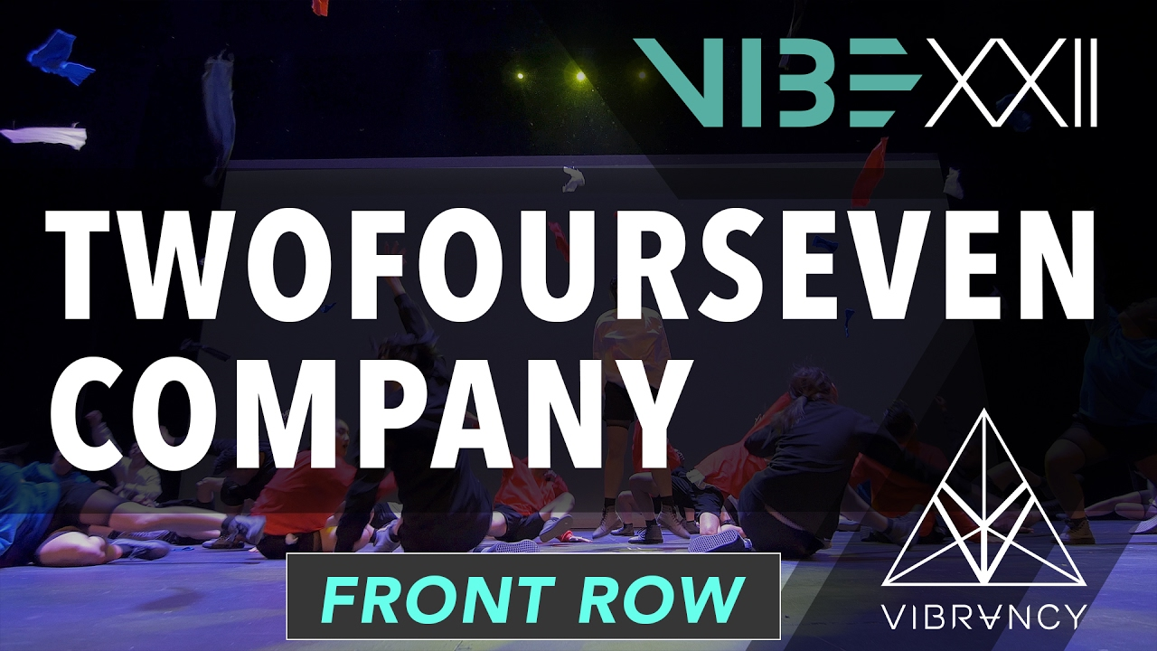 TwoFourSeven Co. | VIBE XXII 2017 [@VIBRVNCY Front Row 4K] #vibedancecomp
