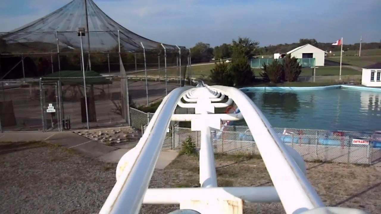 Pipeline Express Roller Coaster Pov Wild Water Wheels Peterborough