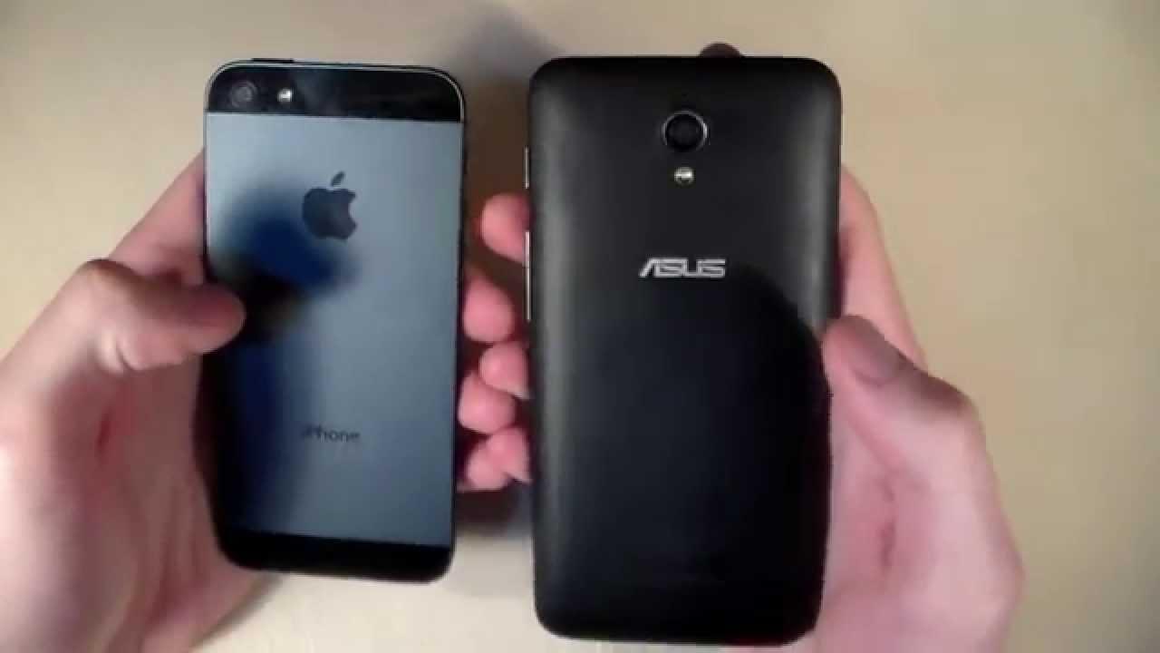 Asus ZenFone C Vs IPhone 5