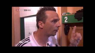 Weltklasse Ansprache des Trainers von Aumund Vegesack beim Pokalspiel gegen Hoffenheim