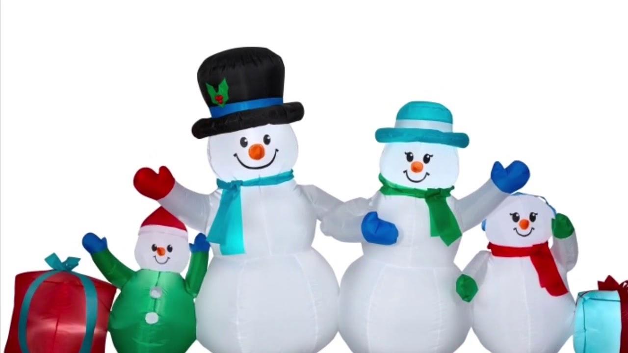 Walmart Christmas Inflatables 2018 - YouTube