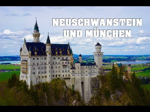Neuschwanstein Castle and Munich City + one  FC Bayern Munich goal in 1080p