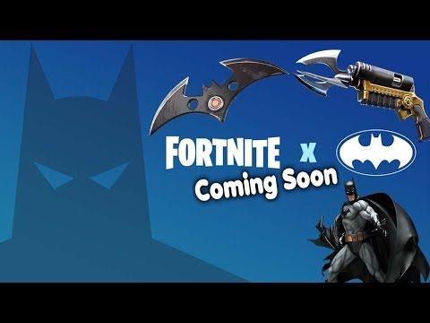 FORTNITE X - BATMAN EVENT COMING SOON - START TIME AND LOCATION - GOTHAM CITY AND NEW SKIN BUNDLE