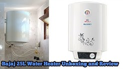Bajaj 25L Water Heater Unboxing and Review