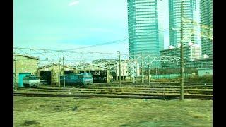相鉄・JR直通列車に乗ッてみた!新鶴見信号場や機関区を右側に見ながら武蔵小杉に向かう!