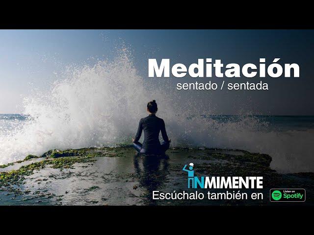 Meditación sentado / sentada