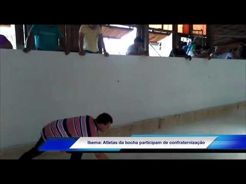 Ibema: Atletas da bocha participam de confraternização