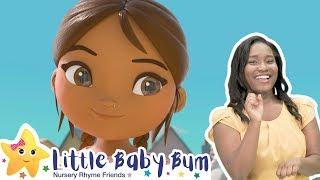 BRAND NEW   Work Work Work   Sign Language For Kids   Kids Cartoon   Little Baby Bum   ASL