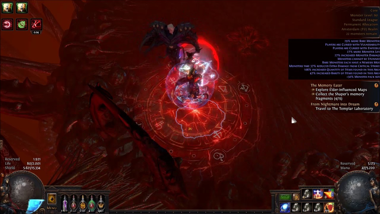 3 0] Path of Exile Shaper Low Life Blade Vortex by Billy