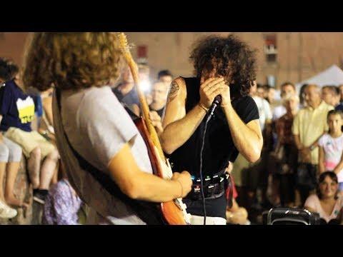 Moses Concas & Borja Catanesi - Street Improvisation Beatbox Harmonica Guitar