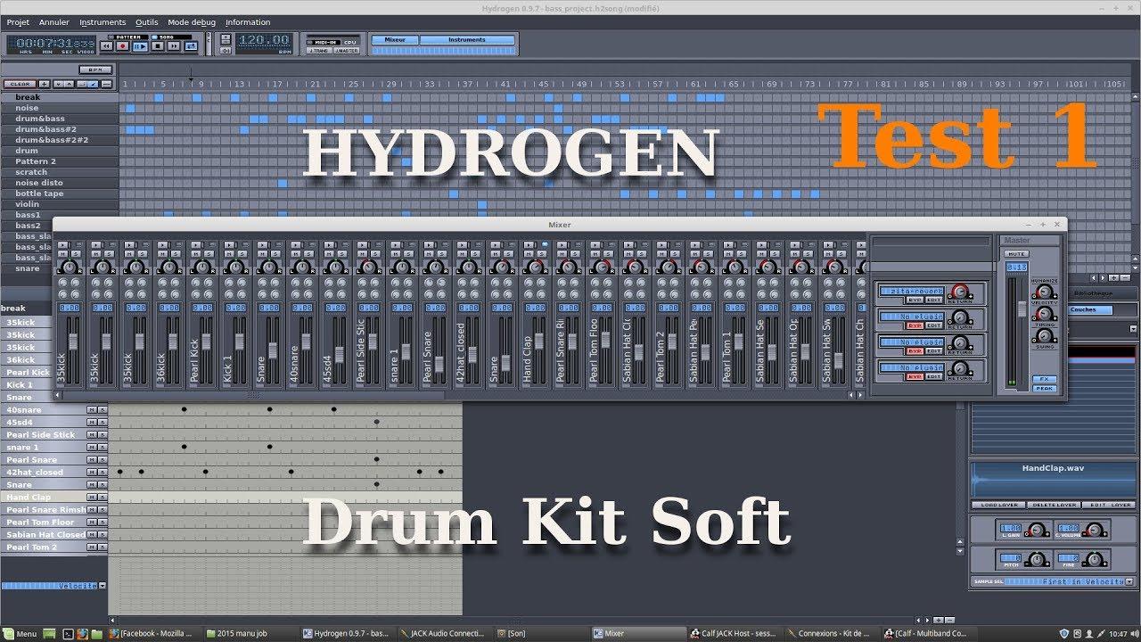 hydrogen boite à rythme