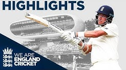 Leach Leads England's Fightback! | England v Ireland Specsavers Test Day 2 - Highlights