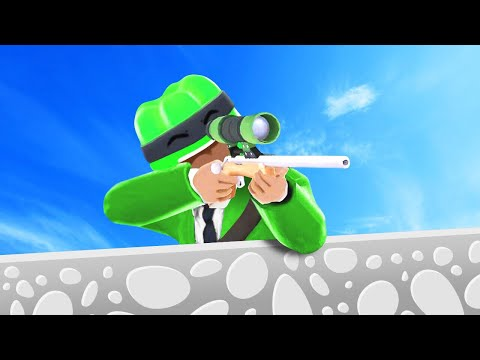 I'M IN THE BEST MOBILE GAME EVER! (Snipers vs. Thieves)