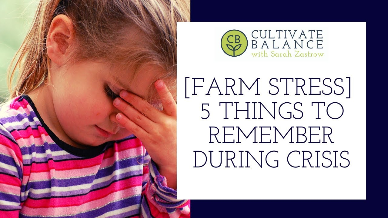 5 Important Things to Remember During Crisis