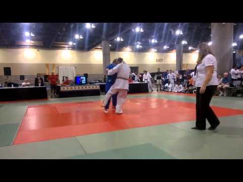 Wild west Judo classic (2015) 1st round Robert Nolan v Lewis Donnelly