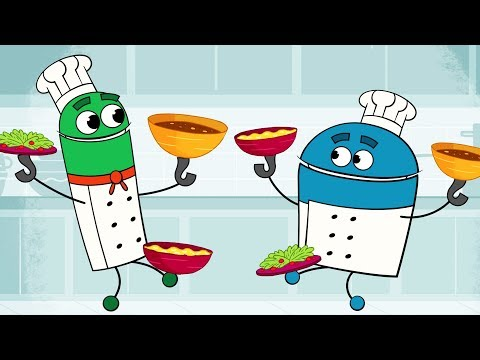 StoryBots   Lunch Time Songs For Kids   Songs to Learn for Children