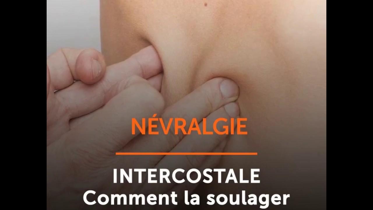 Névralgie intercostale - Comment la soulager - Ooreka.fr - YouTube