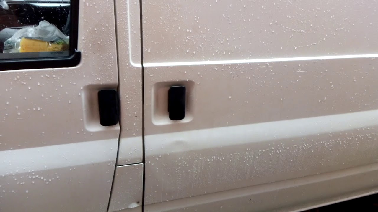 hight resolution of ford transit mk6 side door side door won t open problem fix