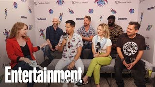 Magnum P.I.: Jay Hernandez Hesitated Before Taking His Role | SDCC 2018 | Entertainment Weekly