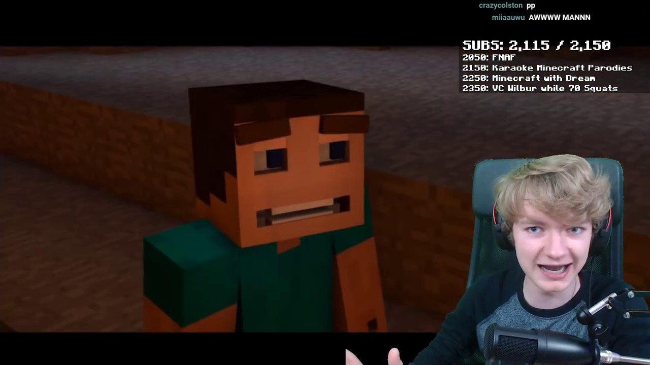 tommy singing revenge (creeper aw man) - YouTube