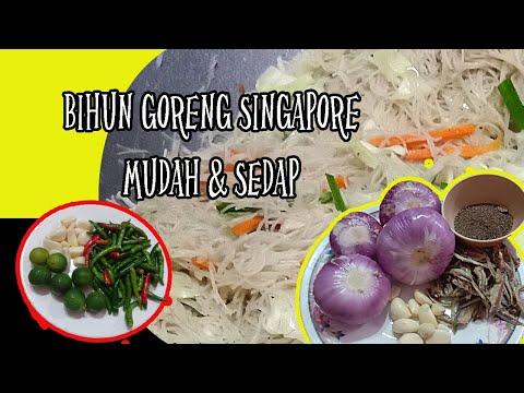 resepi-bihun-goreng-singapore-mudah-&-sedap-dengan-sambal-kicap-padu