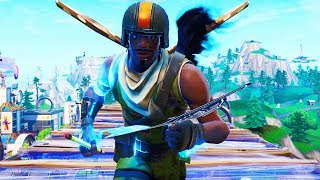 Build While Using The Infinity Blade Sword With This Fortnite Glitch! (SWORD FIGHT LTM)