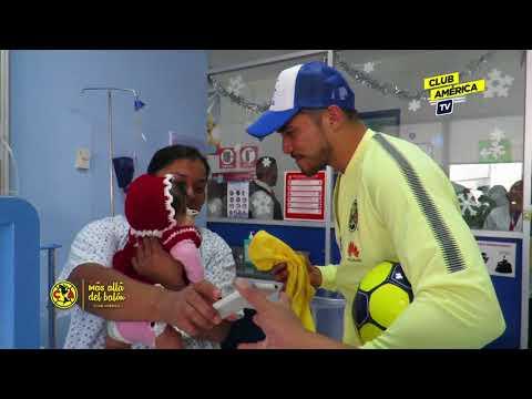 Visita Club América a Hospital INP Reyes Magos